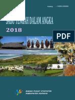 Kecamatan Sabu Tengah Dalam Angka 2018