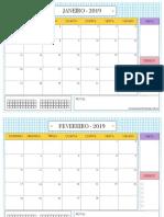 Calendário-2019