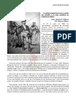 La unidad española de toreros a caballo que humilló a la letal caballería de Napoleón en Bailén
