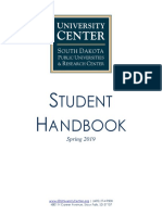 University Center Sioux Falls Student Handbook - Spring 2019