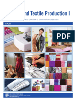 Appareal and Textile Production I