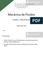 mf unidad 5 hidrodinámica