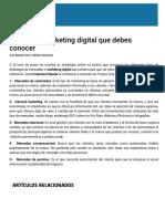 5 Tipos de Marketing Digital