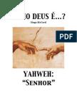 Jeová, YAHWEH SENHOR