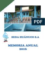 Memoria Anual 2016