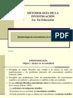 2.- EPISTEMOLOGÍA