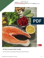 Foods Rich in Leucine
