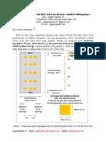 Pengetesan Prime Coat Dan Tack Coat Beserta Contoh Perhitungannya (Angga Nugraha)