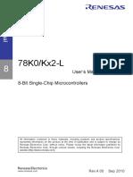 78K0-KB2 Micro Del Immo de Chery