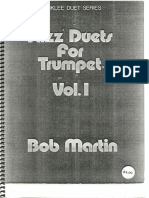 jazz Duets for Trumpet Vol. I
