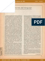 El Ornitorrinco - Editorial sobre Pérez Esquivel