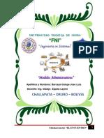 Micro Empresa Chicharroneria El Encuentro (SIS 2320)
