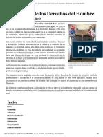 Declaración de Los Derechos Del Hombre y Del Ciudadano - Wikipedia, La Enciclopedia Libre