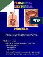 Biofarmasetika Sediaan Peroral
