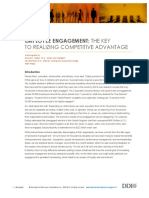 Employee Engagement- The Key to Realizing Competitive Advantage