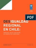 Desigualdad Regional en Chile
