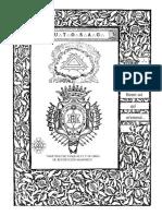 Martínez de Pasqually y Su Obra de Restitución Masónica