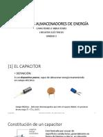 elementos almacenadores de energia