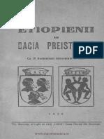 Etiopienii în Dacia preistorică-de G.M. Ionescu 1926