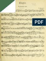 Villa Lobos Elegie (cello)