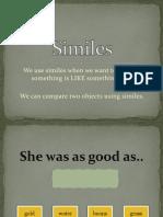 Similes activities