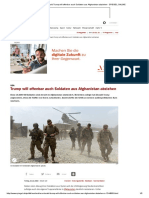 usa  donald trump will offenbar auch soldaten aus afghanistan abziehen - spiegel online