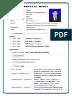 1. Curriculum Vitae (Syahrir) Benardanterbaru