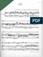 BACH - Sonata for Flute & Continuo BWV. 1031 (Eb) - Continuo Score