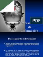 procesamiento informacion