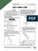 HCF and LCM Telugu