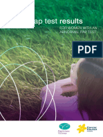 Pap Test Results for Women With an Abnormal Pap Test