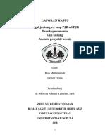 Laporan Kasus Gagal Jantung e.c Susp. PJB Dd PJR (Risa Muthmainah_I1401161014)