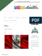 Peru - GhidEuropean - Cel Mai Bun Ghid de Calatorie
