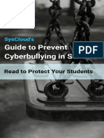 SysCloud's Guide to Prevent Cyberbullying in Schools