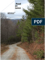 Forest Access Rd. Maintanenace Const.