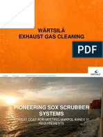 Wartsila Exhaust Gas Cleaning Presentation 2013
