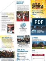 ICPE Mission USA School of Witness Brochure