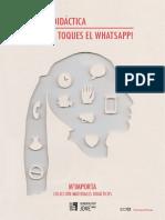 """Guia didactica """"No em Toques el Whatsapp"""""""