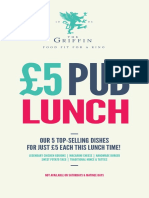 £5for5lunch