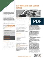 IATF 16949_2016 Lead Auditor- Synosis