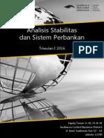 Laporan Analisis Stabilitas dan Sistem Perbankan Triwulan I 2016.pdf