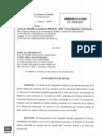 Autos Sección Segunda Medidas Cautelares Madrid Central