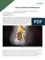 Ciudadanos Duda Si Entrar en El Gobierno de Andalucía Por La Dependencia de Vox _ España _ EL PAÍS