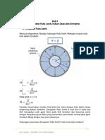 BAB 3 Kerapatan Fluks Listrik, Hukum Gauss Dan Divergensi