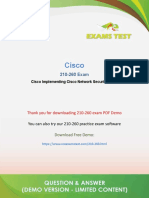 Cisco CCNA Security Exam Questions