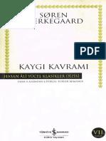 Soren Kierkegaard - Kaygı Kavramı.pdf