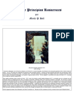 [Manly Palmer Hall] Credos y Principios Rosacruces (FRC Max Heindel)