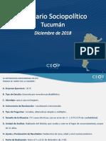 Escenario Tucumán Diciembre 18 - CEOP