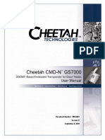 Cheetah Transponder CMD-N GS7000 User Guide[1]
