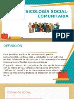 Psicología Social-comunitaria Diapos